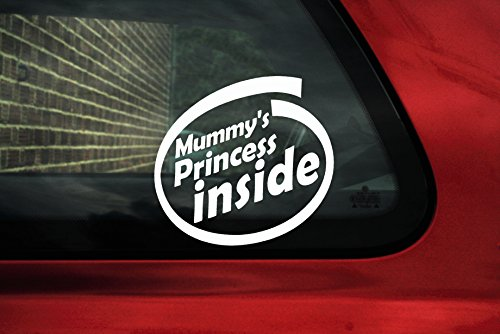 mummy s-baby Princess on board Autocollant