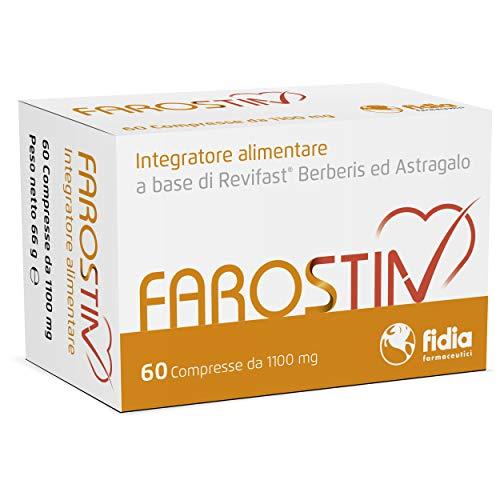 Fidia Farmaceutici 12000242 Farostin Integratore Alimentare a Base di Revifast, Berberis ed Astragalo - 60 Compresse