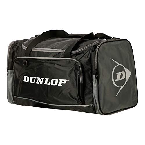 Dunlop Dunlop Sporttasche Herren Reisetasche - Borsa per la palestra Unisex Adulto, Schwarz, Large: 62 x 32 33 cm