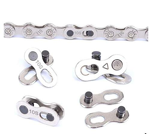 Celtics 6/7/8/9/10/11 Speed Bike Chain Connector Lock Set MTB Road Bicycle Connector for Quick Master Link Joint Chain 4 Pairs a Lot (10 Speed 4 Pairs)