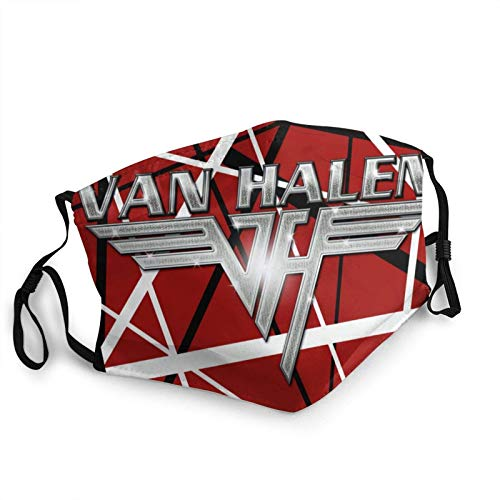 FlonzGift Van Halen Máscara facial locomotora resistente al viento, al polvo, a prueba de polvo, diadema y cuello