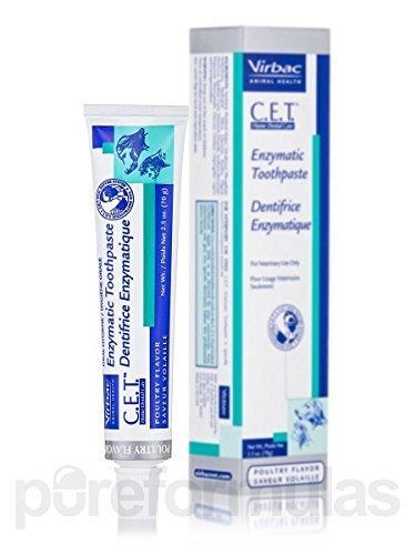 3 Pack C.e.t. Enzymatic Toothpaste - Poultry Flavor - 2.5 Oz (70 Grams)