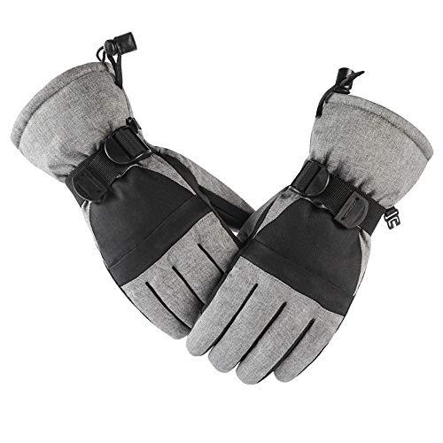 Guantes de trabajo de invierno, guantes de conducción para clima frío, pantalla táctil de esquí, guantes de esquí para padres e hijos engrosados, guantes de hombre y mujer