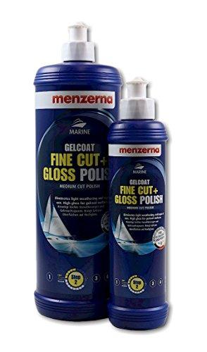 Preisvergleich Produktbild menzerna Gelcoat Fine Cut + Gloss Polish Medium Cut Polish Schleifpolitur 250 ml