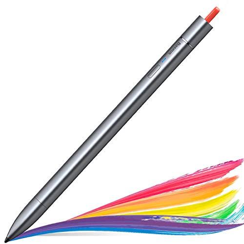 Baseus Penna Stilo per iPad, Matita per iPad con Design Magnetico e reiezione del Palmo per iPad 7a 6a Generazione, iPad PRO 2020 2018 (11/12,9 Pollici), iPad Mini 5a/iPad Air 3a Generazione