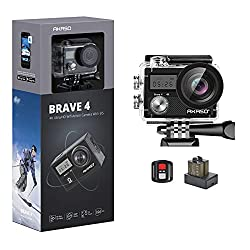 top rated AKASO Brave 4 4K 20MP WiFi Ultra HD Action Camera, 30m EIS Underwater Camera… 2021