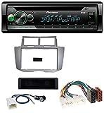 caraudio24 Pioneer DEH-S410DAB USB MP3 DAB AUX CD Autoradio für Toyota Yaris (2007-2011)