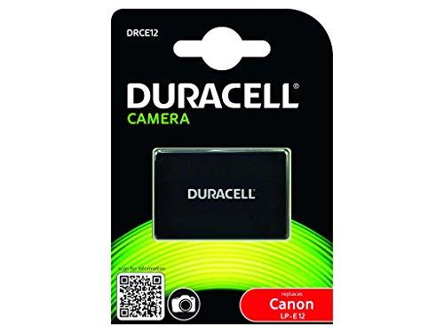Duracell DRCE12 Li-Ion Kamera Ersetzt Akku für LP-E12
