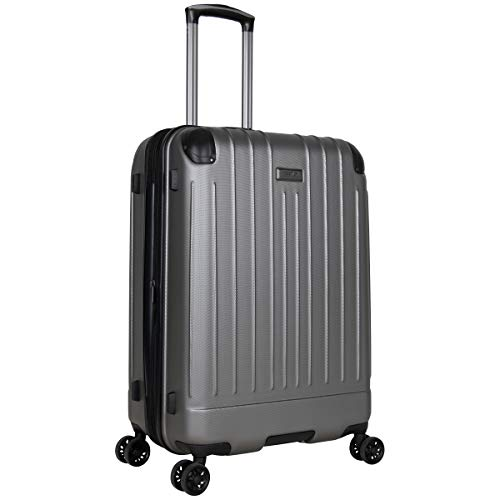 Kenneth Cole Reaction Flying Axis 28' Hardside Expandable 8-Wheel Spinner Check-Size Luggage, Silver