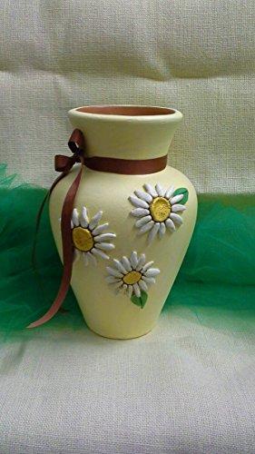 Keramik-Vase Gänseblümchen Linie