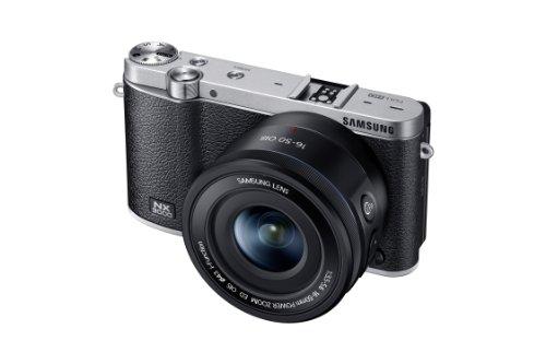 Samsung NX3000 Smart Systemkamera (20,3 Megapixel, 7,5 cm (3 Zoll) Display, Full HD Video, WIFi, NFC, Adobe Photoshop Lightroom 5, inkl. 16-50 mm O...