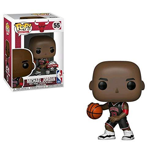 POP Funko NBA Michael Jordan Black Uniform Exclusive US Figure …