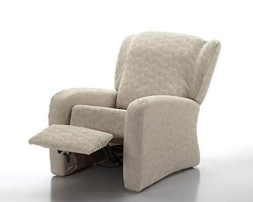 Funda de sofá Elástica Relax Great (Relax 4 Piezas, Natural)