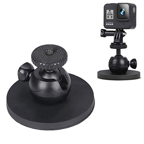 675 Home for GoPro Hero 8/6 Auto a Ventosa Staffa Sport Camera Accessories, Stile: Singolo Ventosa Pratico (Color : Black)