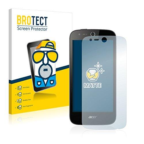BROTECT 2X Entspiegelungs-Schutzfolie kompatibel mit Acer Liquid Z330 Bildschirmschutz-Folie Matt, Anti-Reflex, Anti-Fingerprint