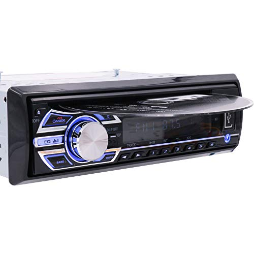Alondy Car Radio Stereo Headunit CD DVD Player with Bluetooth Receiver 1 DIN MP3 / USB/SD/AUX/FM