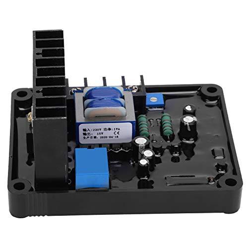 Eujgoov generador regulador de voltaje suministros de generador AVR suministros de grupo electrógeno ajustable 400 V CA trifásico 3 cables GB-160