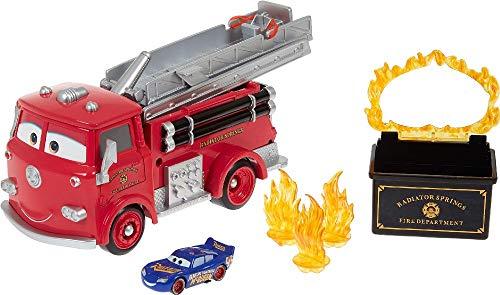 Disney Cars Red Sfida Cambia Colore con Macchinina Saetta McQueen, Giocattolo per Bambini 4+ Anni, GPH80