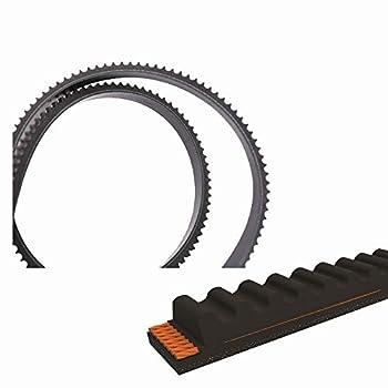 QIJIA Lawn Mower Drive Belt 3/8  x 43 5/8  for Husqvarna 506372702 K760 Cut-N-Break