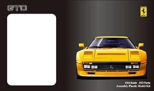 hasta 60% de descuento Modelo de Fujimi modelo EM2.8.8. entusiasta 1. 2.4. Ferrari Ferrari Ferrari 2.8.8. GTO amarillo  Nuevos productos de artículos novedosos.