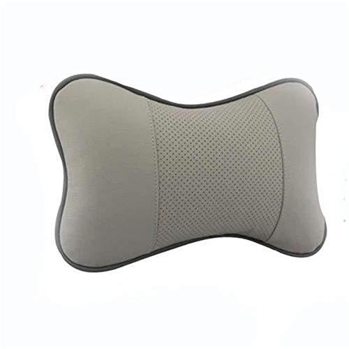 HJPOQZ Estilo de Coche Nuevo cojín reposacabezas de Coche Almohada para el Cuello Funda de Asiento Cuidado de la Salud Accesorios de Almohada para el Cuello del Coche