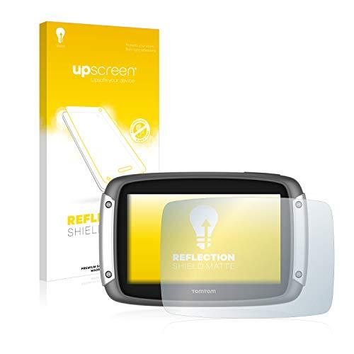 upscreen Entspiegelungs-Schutzfolie kompatibel mit Tomtom Rider 400 – Anti-Reflex Bildschirmschutz-Folie Matt