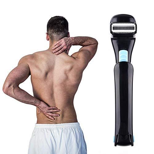 Heren Back Razor, Body Trimmer, hoge kwaliteit, Verstelbare en rekbaar, Afneembare scheerkop veilig en pijnloos Shave, Nat en droog