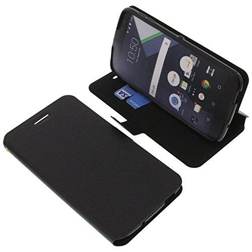 foto-kontor Tasche für BlackBerry DTEK60 Book Style schwarz Schutz Hülle Buch