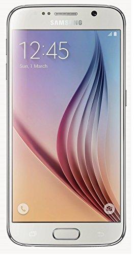 Samsung Galaxy S6 G920 32GB Unlocked GSM 4G LTE Octa-Core Smartphone, White Pearl (Renewed)