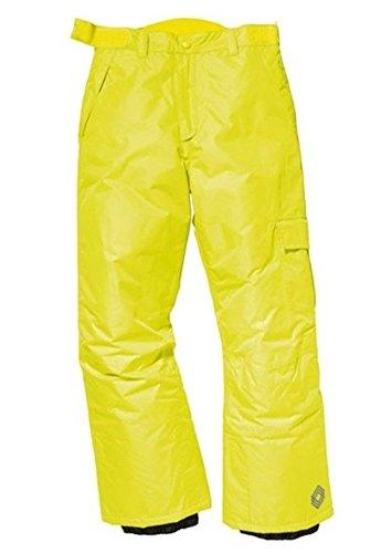 Jongens snowboardbroek skibroek/winterbroek geel 146/152