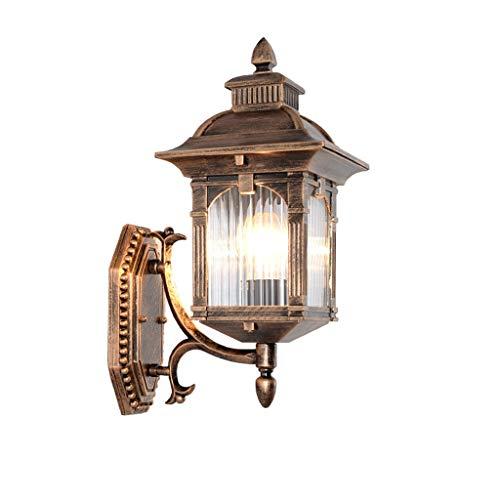 TXTC wandlamp, voor buiten, industrieel, waterdicht, wandlamp, vintage-stijl, voor tuin, veranda, achtertuin, decoratie