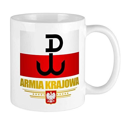 N\A Armia Krajowa (Heimatarmee) Becher Einzigartige Kaffeetasse, Kaffeetasse