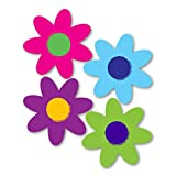 Magnet America Set of 4 Bright Flower Pack
