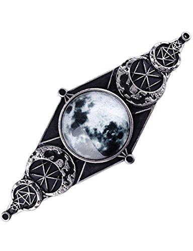 Dark Dreams Gothic Steampunk Luna Lunar Mond Vollmond Haarspange Hairclip Restyle