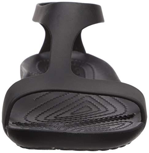 Crocs Serena Mujer Sandalias, Negro (Black/Black 060), 36/37 EU