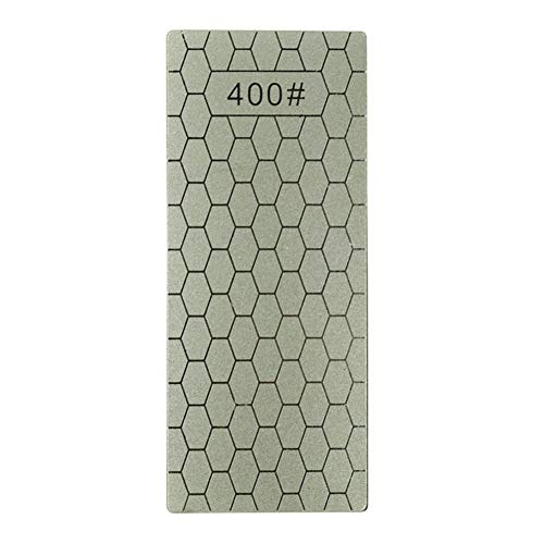 Afilador de piedra de diamante profesional de doble cara para afilar cuchillos 400#