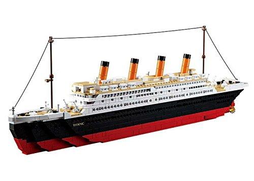 Sluban Bloques de Construccion Titanic Titanic Big