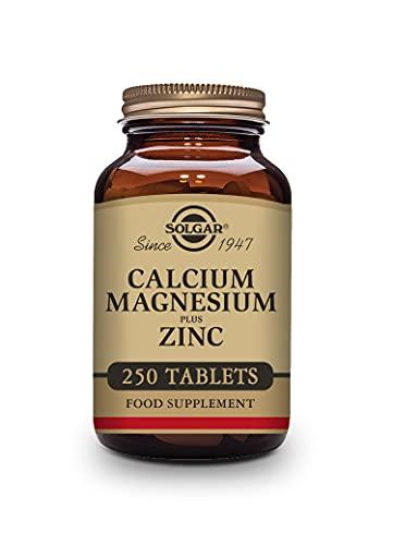 Solgar | Contiene Calcio Magnesio y Zinc | Fórmula combinada de calcio, magnesio y zinc | Minerales | 250 Cápsulas Vegetales