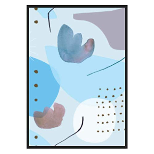 Lámina para Cuadro Abstracto. Lámina Decorativa para Dormitorio 50x70. Decoración salón Moderno. Cuadro Barato para Dormitorio Moderno, Comedor, habitación y Oficina.