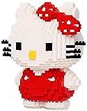 ZT Bloques de construcción Modelo de gato Conjunto de bloques de construcción 1300 + PCS Nano Mini Blocks DIY Juguetes, rompecabezas 3D DIY juguetes educativos, fácil de agarrar, Dar a su hijo el mejo