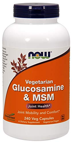 Now Foods Glukozamina MSM Vegetarian, 240 Stück