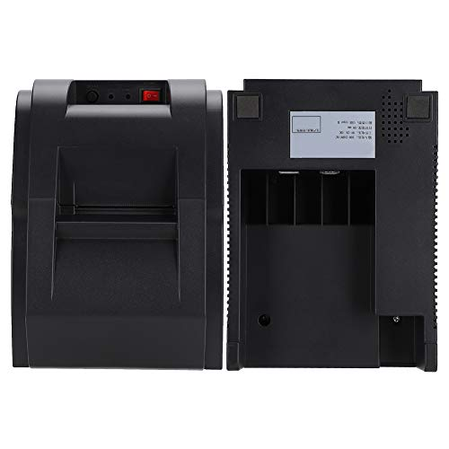 Mini Printer, AC100-240V 50/60Hz 1A DC9V ± 10%2A Label Printer for Windows/iOS/Android 110-240v