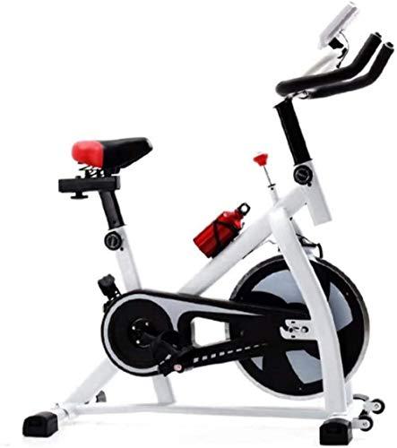 Bicicleta de ejercicio para bicicletas de giro en el hogar con pantalla LED, resistencia ajustable para uso en el hogar y el gimnasio, entrenamiento cardiovascular-A
