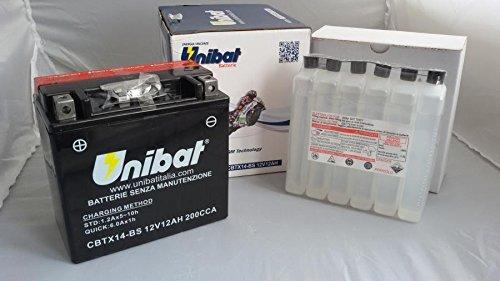 Unibat - Batteria Cbtx14-Bs