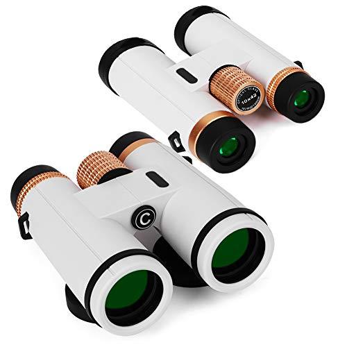 T osuny Telescopio Binocular, binoculares HD 10X42, Prisma BaK4 Lente FMC Telescopio de visión Nocturna Gran Angular, para...