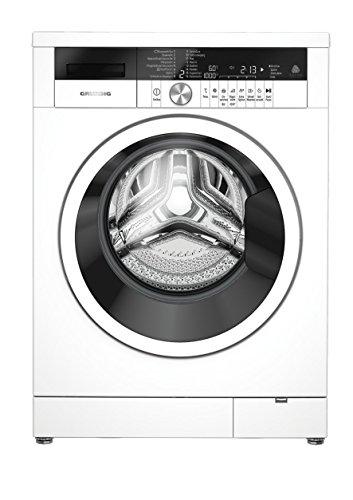 Grundig GWA 48630 Waschmaschine / 8kg / A+++ / 1600 UpM / LED-Display / Schontrommel / WaterProtect+ / Mengenautomatik / Besonders leise: nur 49 dB beim Waschen /WoolProtect