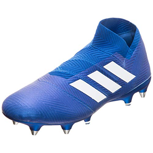 adidas Herren Nemeziz 18+ SG Fußballschuhe, Blau (blau/weiß blau/weiß), 44 EU