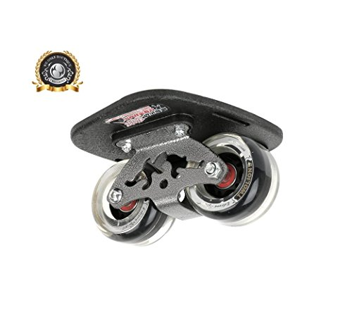 TWOLIONS Drift Skate,High-End Freeline Skates,Ausgestattet 72 mm * 44 mm PU-Räder ABEC-9 High-End-Lager (Transparent)