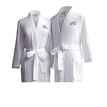 His/Hers Couple's Dressing Gown Set