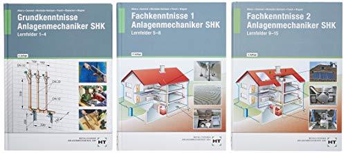 Paketangebot Das Gesellenstück: Anlagenmechaniker SHK Lernfelder 1-15/ Das Paket enthält alle drei Bücher: Das Paket enthält die Titel ... SHK Lernfelder 1-4 (Bestell-Nr. 3135)